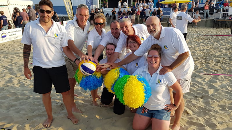 Weymouth Beach volleyball event 2019